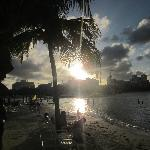 Beach Bar in the evening