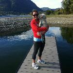 Lagoon / Dock at Campground