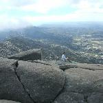 Desde la cumbre se disfruta de una visión panorámica de los Valles de Traslasierra y Calamuchit