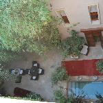 vista desde la terraza patio inferior