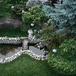 Un angolo del giardino
