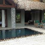 Part of Lagoon side villa with plunge pool