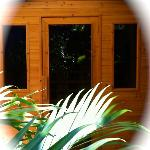 Far Infrared Sauna - divine down time before your bodywork