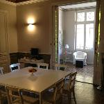 Dining room + sun room
