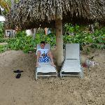 beach, never had to look for a chair, always open ones available
