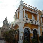 Restaurante San Pedro en el centro historico