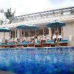 TAO Beach House & Rooftop Bar Infinity Pool with beach view.