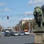 Lion's bridge and Maria Luiza blvd.