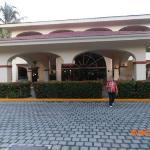 entradita del hotel