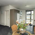 3 Bedroom Apartment - kitchen, laundry and dining area