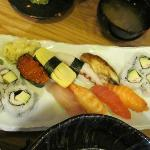 Nice sushi plate
