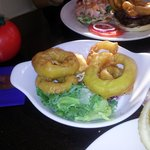 Monster onion rings..lol