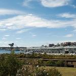 Overlooking Woolloomooloo Wharf