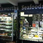 Barkworths Seafoods fish Counter