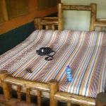 Camera del campo tendato