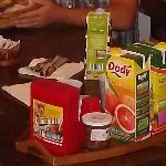 il vassoio colazione dell'ultima mattina
