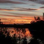 Sunset over Tuross Lake