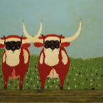 Gallery of Lunenburg County folk art