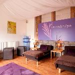 Lavender Spa Relaxation Room