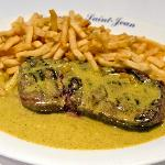 Signature Steak & Fries Dish