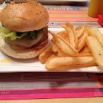 hamburguesa de cebra