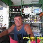 Juan the cheery barman