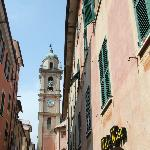 Hotel is in historic centre of Chiavari