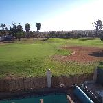 View of 16th green from our villa