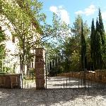 Grounds of Hotel Hospederia Monasterio de Leyre