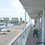 Ocean side view
