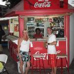 refreshment at Miss P's