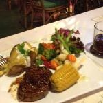 The steak just melted in your mouth. My partner Alex ordered it and I had a taste of it too, fli