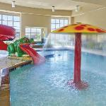 children's Playland  indoor pool area