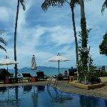 Pool & the beach