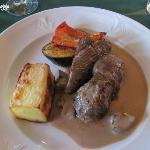 Cena en el hotel Hekla
