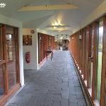 Pasillo del Hotel Hekla