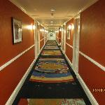 Main hallway to my room