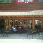the outside of Teddys