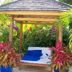 cabana (no charge, first come first serve)