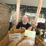Fresh baguettes and baking at the Alpine Grind!