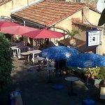 Vue extérieure du restaurant La Suarella