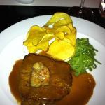 fillet steak with foie gras