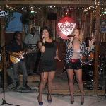 Tammi and Tessan Chin performs at Jo Jo's