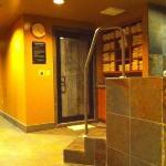Men's spa steam room