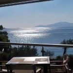 vista dalla terrazza ristorante!