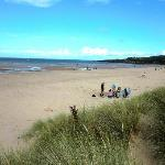 LLigwy Beach - direct, secure footpath from the Campsite.