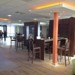 large reception/ bar area