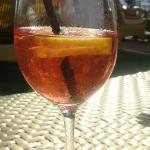 коктейль в солнце