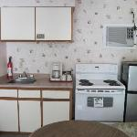 Kitchen Unit of Alpine motel