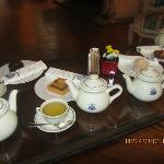 Tea time at d'Aubusson